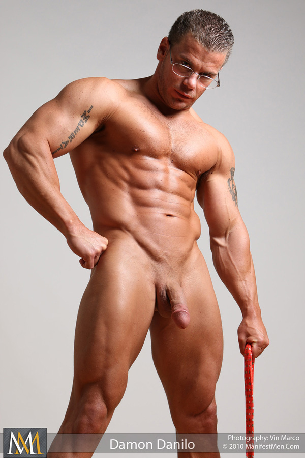 Nude muscle men damon danilo consider, that